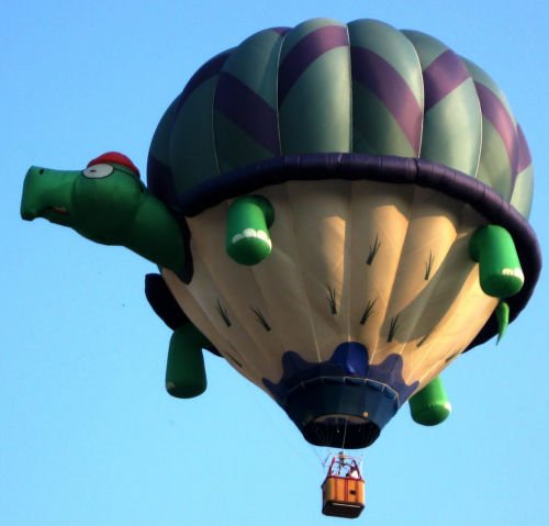 Pokey by limited engagement will participate in the Saturday eveng Balloon Glow and the Sunday morning 5k RUN